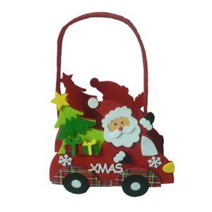 Frohe Weihnachten Süßigkeitsfestlichkeit Beutel-Kind-Geschenk-Beutel Snack-Handtasche