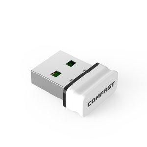 etworking Netzwerkkarten comfast RTL8188EUS Mini-USB-WLAN-Adapter 2.4G Wireless LAN Dongle 150Mbps 802.11b / g / n Wi-Fi-Emitter Wi-Fi Receiver Networ ...