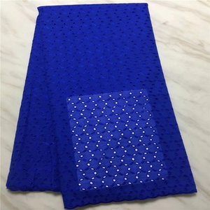 BEAUTIFICAL YELLOWE african swiss voile lace fabric 5yards 2017 최신 레이저 커팅 레이스 코튼 레이스 PL010502