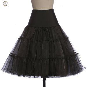 Tutu-Rock Silps Schaukel Rockabilly PetticoatUnderskirt Krinoline Fluffy Pettiskirt für Hochzeit Brautweinlese-Frauen-Kleid