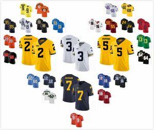 Costumbre Michigan Wolverines Jersey Joe Milton 5 Carlo Kemp Jake Moody 2 Tarik Negro Khaleke Hudson 7 Quinn Nordin 3 Zach Charbonnet 24 S-3XL
