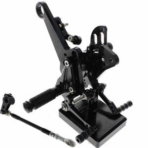 Ayarlanabilir ayakliklari Pedallar rearset Footrest Arka Seti İçin DUCATI Diavel Karbon 2011-2015 AMG 2011-2012