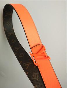 2019 Nueva marca de diseño de H correas de los hombres de alta calidad para hombre Cinturones de lujo del cuero genuino Hebilla Correa ocasional de la pretina