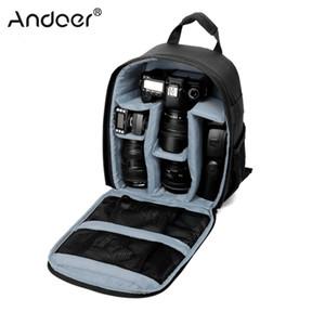 Сумка для фотокамеры водонепроницаемый DSLR рюкзак-дюймовый размер для цифровых зеркальных камер беззеркальных камер вспышки объектив, штатив и другие аксессуары T191025