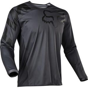 2020 년에 스포츠 셔츠를 위한 승진 남자 자전거 시리즈 저지 자 의류 긴 소매 탑 경주 오토바이 자전거 도로 폭스 TLD T-셔츠