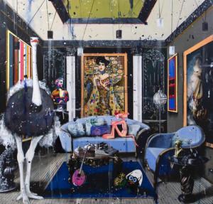 Angelo Accardi Ho dipinto la Venere per la casa Artigianato / HD Stampa della pittura a olio su tela di canapa di arte della parete della tela di canapa Immagini 200514