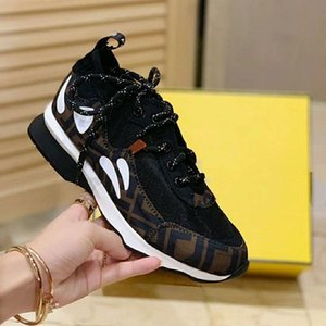 2020 new leather couple men and women breathable mesh casual shoes fashion non-slip color matching trend belt sneakers lc14