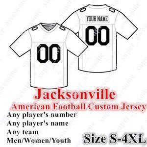 4XL CUSTOM Jacksonville Football Jersey 15 Minshew II 7 Foles 27 Fournette 17 Chark Jr. 18 Conley 12 Westbrook 93 Campbell 44 Jack 41 Allen