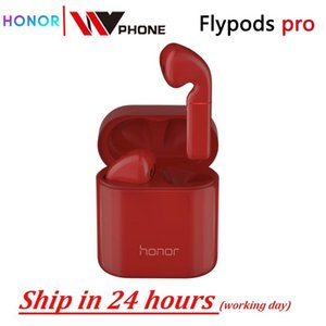 куча Bluetooth наушники наушники Honor flypods про беспроводной сенсорный водонепроницаемый динамического управления наушником Tap беспроводной зарядки Bluetooth ...