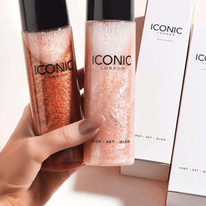 El más reciente larga duración cosméticos icónico de Londres Prep Set Glow Bronceadores líquidos marcadores gota de maquillaje envío aerosol entorno