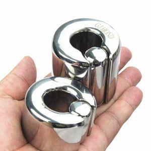 10 Dimensione Bockrings in acciaio inox Scoto Scoto Ciondolo Anelli Cock Cage Ball Barelle Anello Bozzetto per uomo BB-2-310