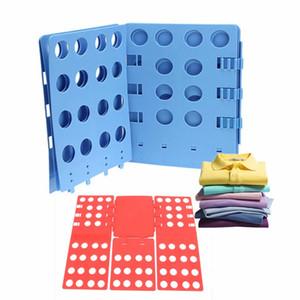 Multifuncitonal ajustable adulto Magia Ropa carpeta camiseta Puentes Organizador Fold Tiempo ropa que doblan al tablero Clavijas Guardar