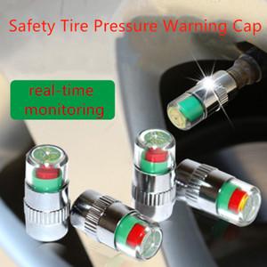 4pcs 2.4Bar 36PSI coche automático de presión de neumáticos de la válvula de vástago monitor Caps Alerta indicador de diagnóstico del sensor de ojos Kit de Herramientas
