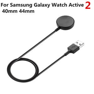 Cargador inalámbrico para el Galaxy de Samsung reloj activo 2 40mm 44mm inteligente reloj cable USB de carga rápida de energía Base de carga del cargador portátil