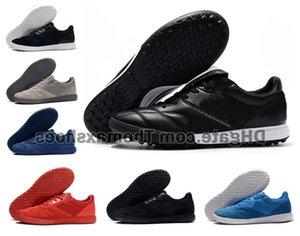 الكلاسيكية تيمبو الأسطورة رئيس الوزراء II رجل سالا TF IC العشب أحذية كرة القدم في الأماكن المغلقة الأحذية المنخفضة المرابط في الكاحل ريترو أحذية كرة القدم رخيصة حجم 39-45