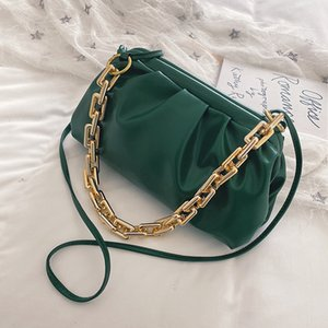 SEE YOU LOVE New Luxury Crossbody Bags For Women 2020 Brand Summer Chain Fashion Woman Handbag Leather Shoulder Bag Cloud Bags