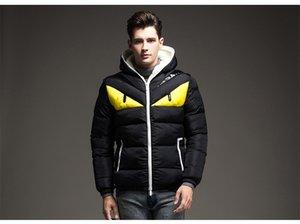 Осень и зима New Mens Дизайнерские куртки Стенд Воротник Luxury Light High Quality