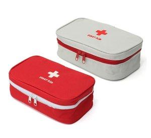 NOUVEAU Portable vide First Aid Kit Sac Bureau Pouch Accueil Voyage secours médical d'urgence Sac de cas médical Paquet