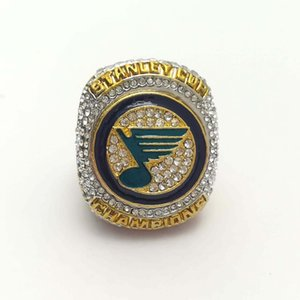 2019 St. Louis Blues Hockey Championship Ring Fans Souvenir Collection Gift for Birthday Holiday Christmas