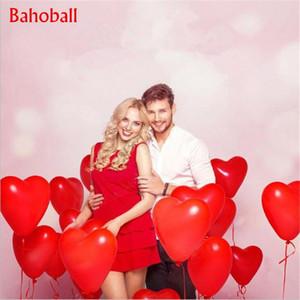 1000pc Rosso Rosa Balloons 10inch cuore di amore di lattice palloncini matrimonio palloncino di elio San Valentino festa di compleanno palloncini gonfiabili