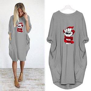 LOGO Kadınlar Elbise için DIY dizayn edilmiş elbiseler Harfler 2020SS Marka Bayan Etekler Yüksek Kalite Günlük Elbiseler 6 Renkler Toptan Satış