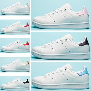 Adidas Stan Smith Designer de luxe Rayures Stan Appartements Femmes Casual Chaussures Triple Blanc Noir Zèbre Vert Argent Or Smith Hommes formateur Baskets De Sport 36-45