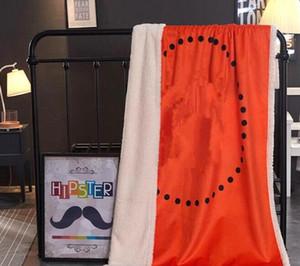 2019 luxus Unterschrift H Marke Verdicken Wolldecke Hause Outdoor Schal Schal Warme Decken Große 150 * 200 cm Mode Neujahr Familie geschenk