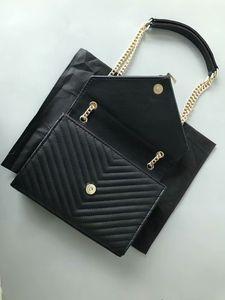 2020 spring winter hot selling black women designer handbags purse woman chains Diamond Lattice shoulder bag fashion bags
