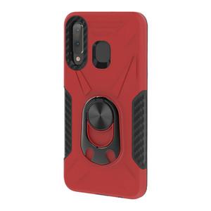 Huawei Y6 Y7 Y9S Coolpad Legacy MetroPCS micromax T55 Metal Kickstand Darbeye Koruyucu çizilmeye karşı Telefon Kılıfı Kapak İçin
