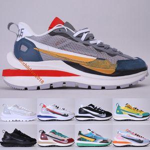 Sacai x Nike Pegasus VaporFly SP VaporWaffle Laufschuhe Herren Damen Designer Segel Sport Fuchsia Light Bone Spiel Royal Sneakers Größe 5.5-11