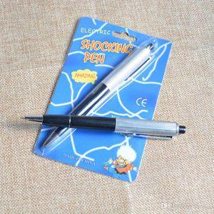 April Fools Day bolígrafos de lujo Bolígrafo Impactante Choque eléctrico Juguete de regalo Broma Broma Truco Diversión broma truco broma juguetes Envío gratis