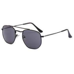 TOP qualidade Marca de óculos de sol de luxo homens mulheres verão óculos de sol UV400 polarizada Sport Sunglasses homens de óculos de sol de ouro com caixa de 3648