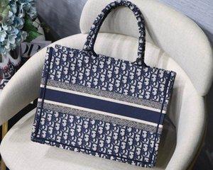 الأزياء أعلى جودة التطريز الكلاسيكية الزهور الملونة مصمم حقائب اليد متعدد الألوان العلامة التجارية الشهيرة نمط خياطة أكياس التسوق الأزياء