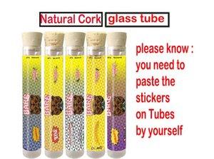 Barewoods Prerolls Embalagem Tube Cork Tubo nu OG Plastic / Tubos de vidro para pré-ROLLS pré-roll Dankwoods Barefarms limitada