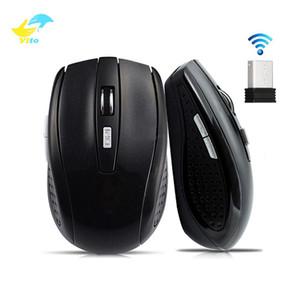 노트북 PC 무선 마우스 Vitog의 USB 무선 게임 마우스 2000DPI 조정 수신기 컴퓨터 마우스 2.4G 수신기