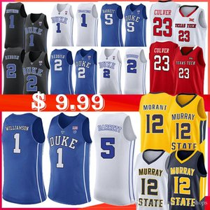 1 시온 윌리엄슨 NCAA (12) 응 모란 듀크 블루 데빌 뉴저지 5 RJ 바렛 2 캠 붉은 머레이 주립 대학 농구 뉴저지 Laettner