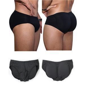 Men Butt Lifting Underwear High Waist Modeling Shapewear Panties Black Plus Size Shaper Tummy Control Bottom S-3XLShaper Men Padded Control