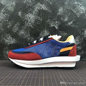 New UNDERCOVER x Sacai LDV Waffle blue green athletic shoes For men women fashion sneaker black white Camping Hiking running jogging trainer