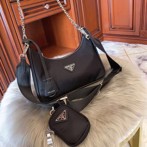 alta qualidade reedição 2005 designers de mulheres bolsas de luxo Hobo bolsas bolsa da senhora saco de totes canal ombro crossbody moda de luxo