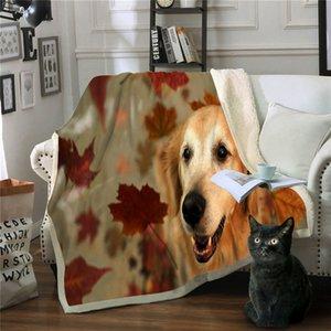 Couvertures Pour Lits Chien Mantas Para Canapé Decorativa Jeter Couverture Couvertures En Polaire Et Jette Manta Polar Cobijas Drop Shipping