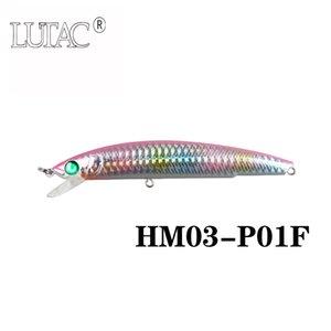 Lutac haute qualité minnow flottant minnow De Pêche Dur Leurre HM03C 80mm / 7g artificielle Baitin stocks engins de pêche