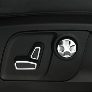 Car-Styling Sitze Waist Adjustment Button Switch-Abdeckung Trim 3D Aufkleber für Maserati Ghibli Levante Quattroporte Autozubehör