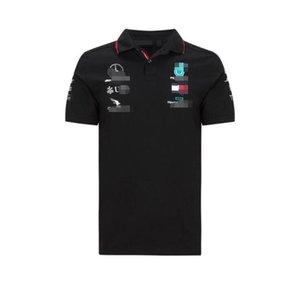 F1 Formula Uno camicia maglietta di polo Hot nuova moto a cavallo vestiti di corsa di velocità singolo piumino poliestere asciutto rapido