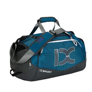 40L Dry Wet Gym Bags For spalla di corsa della borsa del fitness Calzature sportive impermeabili Donna Uomo Sac De Sport Formazione, T-8050