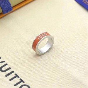Classic luxury designer jewelry women ring with crystal mens gold rings stainless steel 18k love bracelet Louìs Vuìttõn bangle bracciali