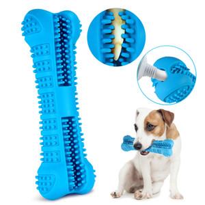Hund Zahnbürste Spielzeug Bürsten-Stock-Haustier-Molar Zahnbürste für Hundewelpen Zahn Gesundheitswesen Zahnpflege Chew Spielzeug Pinsel