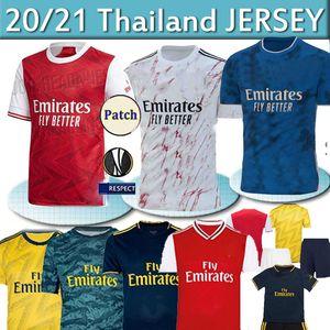 Gunner 2021 Camisa Arsen camiseta de fútbol PEPE NICOLAS CEBALLOS HENRY GUENDOUZI Sokratis TIERNEY 20 21 Gunners Football superior de Tailandia