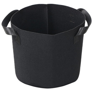 Black Fabric Pots Plant Grow Bags with Handles Planting Bag Seedling Flowerpot 1, 2, 3, 5, 7, 10, 15, 20 ,25, 30 Gallon