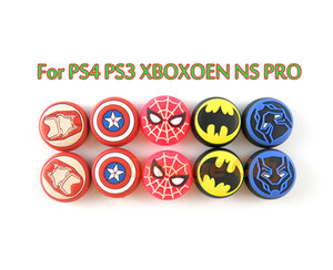Silikon Analog Controller Joystick Thumb Çubuk Sapları Cap Kapak For PS3 / PS4 / Xbox 360 / Xbox One NS Pro Oyun Kontrolörler