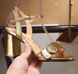 Мода женская обувь роскошь сандалии Дизайнерская обувь тапочки Classics кожаные туфли на высоких каблуках shoe10 GU02